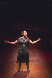 Laura as Sally Bowles in Cabaret--Photo by Brian Bieschke