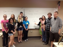 Learning Community/ENG 151, Spring, 2013