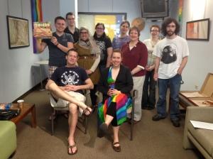 Writer's Block creative writing club--Spring 2013