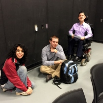Power in Prose Night Two: The students get ready