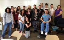 The amazing Spring 2015 creative writing students!